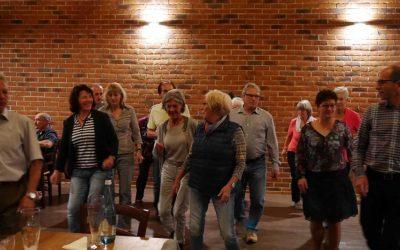 Mitgliedertreff beim geselligen Abend im Halterhof in Ödsbach